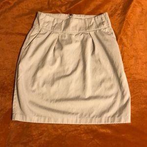Banana Republic size 0 khaki colored pencil skirt